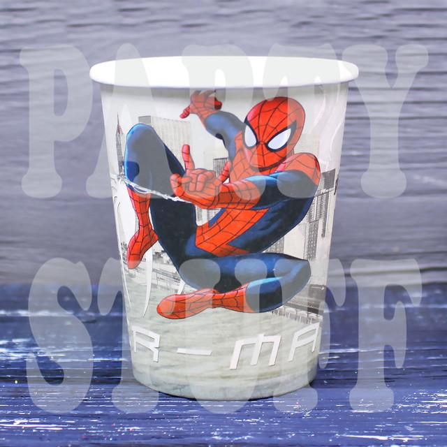 Одноразовые стаканы Человек Паук