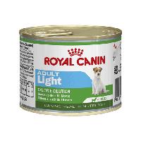Royal Canin Adult LIGHT 195 г - консервы для собак, предрасположенных к полноте