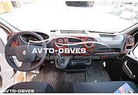 Тюнинг панели проборов (торпедо) Renault Master 2010-..., из 29 элем
