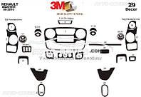Тюнинг панели проборов (торпедо) Opel Movano 2012 - ... , из 29 элем