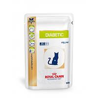 Royal Canin DIABETIC 100 г консервы - лечебный корм для кошек с сахарным диабетом