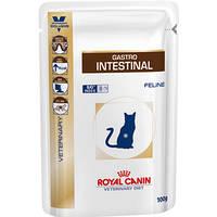 Royal Canin GASTRO INTESTINAL Feline- влажный лечебный корм для кошек при нарушении пищеварения,100г
