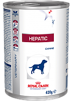 Royal Canin HEPATIC Caninе консервы - лечебный корм для собак при заболеваниях печени, 420г