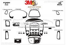Тюнинг декор панели для Hyundai H1 2008-... из 32 элем