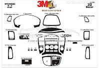 Тюнинг декор панели Hyundai H1 2008-... из 32 элем