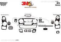 Тюнинг панели проборов (торпедо) Renault Master 2010-..., из 23 элем