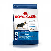 Royal Canin (Роял Канин) MAXI JUNIOR - корм для щенков до 15 месяцев, 4кг
