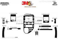 Тюнінг панелі приборів (торпедо) Мерседес Віто 638 з 24 елем (наклейки)