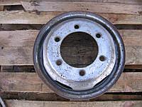 Диск колесный R15 (5.5Jx15H2, спарка) стальной б/у на Mercedes Sprinter 901-905, VW LT46 1996-2006 год