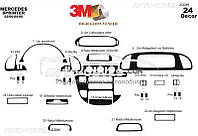 Декор на торпеду Mercedes Sprinter 1996-2006 CDI из 24 элем