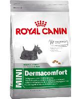 Royal Canin (Роял Канин) MINI DERMACOMFORT-корм для собак мелких пород с чувствительной кожей, 0.8кг
