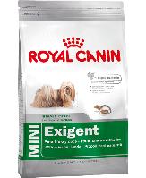 Royal Canin MINI EXIGENT 2кг - полнорационный сухой корм для привередливых собак малых пород