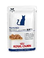 Royal Canin NEUTERED Weight Balance консервы - лечебный корм для стерилизованных котов и кошек, 100г