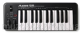 Alesis Q25 USB/MIDI клавиатура, 25 динамических клавиш