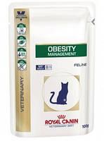 Royal Canin OBESITY 100 г консервы - лечебный корм для кошек при ожирении