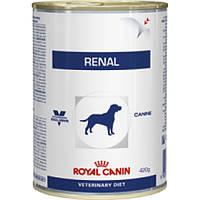 Royal Canin (Роял Канин) RENAL консервы - лечебный корм для собак при почечной недостаточности, 410г