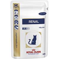 Royal Canin (Роял Канин) RENAL консервы -лечебный корм для кошек при хронической почечной недостаточности, 85г
