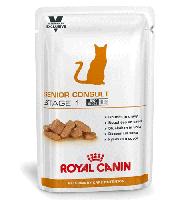 Royal Canin (Роял Канин) SENIOR CONSULT Stage1 консервы - лечебный корм для котов старше 7 лет, 100г