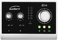Audient iD14 USB аудиоинтерфейс, 4входа/2выхода