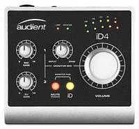 Audient iD4 USB аудиоинтерфейс, 2входа/2выхода