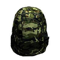 Рюкзак камуфляжный ДУБОК три отделения 30х43х15