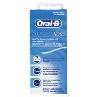 Зубна нитка Oral-B Super Floss 50 м (5010622008204)