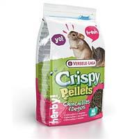 Versele-Laga (Верселе-Лага) CRISPY PELLETS Chinchillas & Degus 1кг - гранулированный корм для шиншилл и дегу