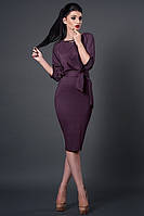 Платье мод №256-12, размеры 44,46, светлый баклажан  (А.Н.Г.)