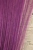 Шторы нити Однотонные Лайт №205 Фиолетовый