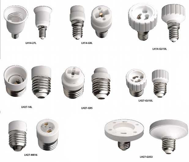 Патроны и переходники электрические для ламп
