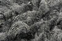 Мех Шиншиллы серые узоры
