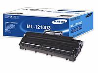 Заправка чёрного картриджа Samsung ML1210D3