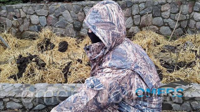 Зимовий костюм для риболовлі та полювання Нива
