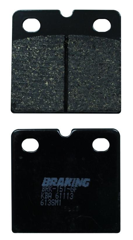 Тормозные колодки Braking 613SM1