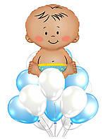 """Букет воздушных шаров """"Ура, сыночек!"""""""
