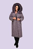 Пальто женское зимнее Zell Пальто больших размеров батал