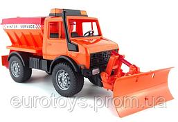Игрушка Bruder снегоуборочная машина MB Unimog 1:16  (02572)