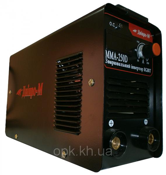 """Сварочный инвертор """"Днiпро-М"""" mini ММА 250 DВ (дисплей, кейс)"""