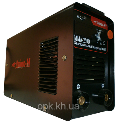 """Сварочный инвертор """"Днiпро-М"""" mini ММА 250 DВ (дисплей, кейс), фото 2"""