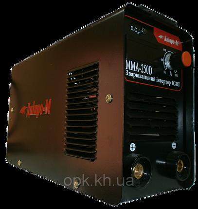 """Сварочный инвертор """"Днiпро-М"""" mini ММА 250 D (дисплей), фото 2"""