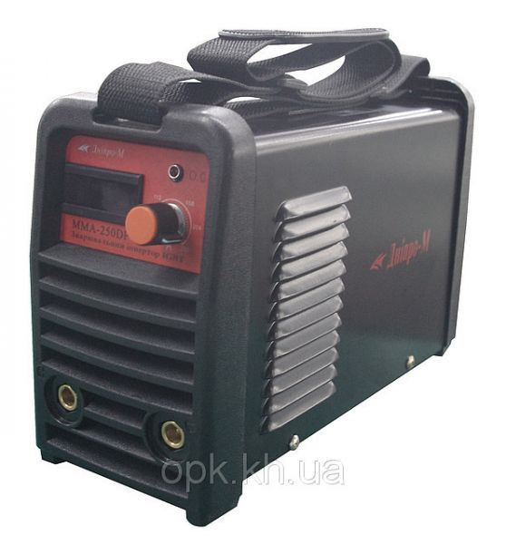 "Сварочный инвертор ""Днiпро-М"" mini ММА 200 DВР (пластик. панель, дисплей, кейс)"