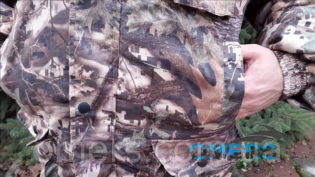Зимний костюм для рыбалки и охоты Клен Цифра