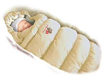 Пуховый конверт в коляску с фланелевой подкладкой Inflated-А, Ontario Baby
