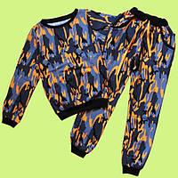 Модный и стильный костюм Камуфляж для девочки-подростка 36-44