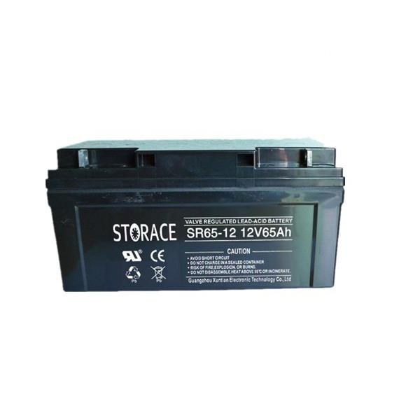 Аккумулятор гелевый - 65 Ач 12В STORACE SRG 65-12  GEL