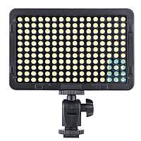 Накамерный светодиодный свет Tolifo LED-176, 5600K (3200K/фильтр).