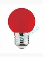 Светодиодная лампа красная 1W E27 Horoz