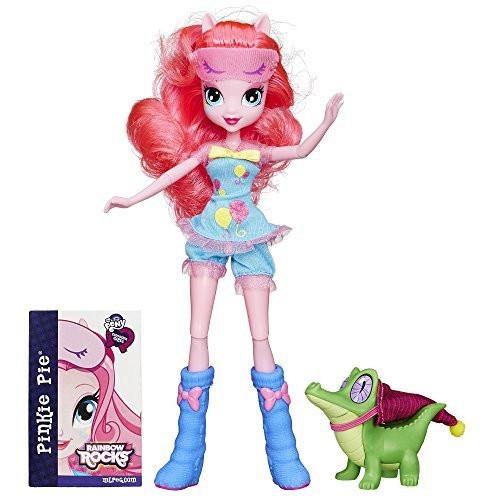 Кукла пони  Пинки пай шарнирная с питомцем My Little Pony Equestria Girls