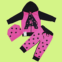 Яркий и очень модный комплект для девочки 80-122