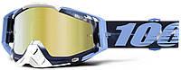 Мото очки 100% RACECRAFT Goggle TieDye - Mirror Gold Lens